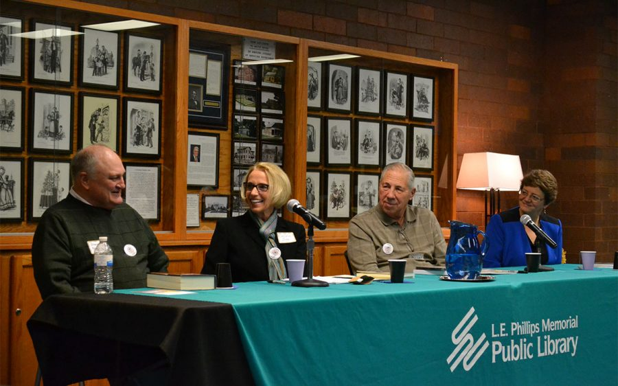 Local authors gather to share advice and promote their books to the Eau Claire community in hopes to bring awareness to local literary art.