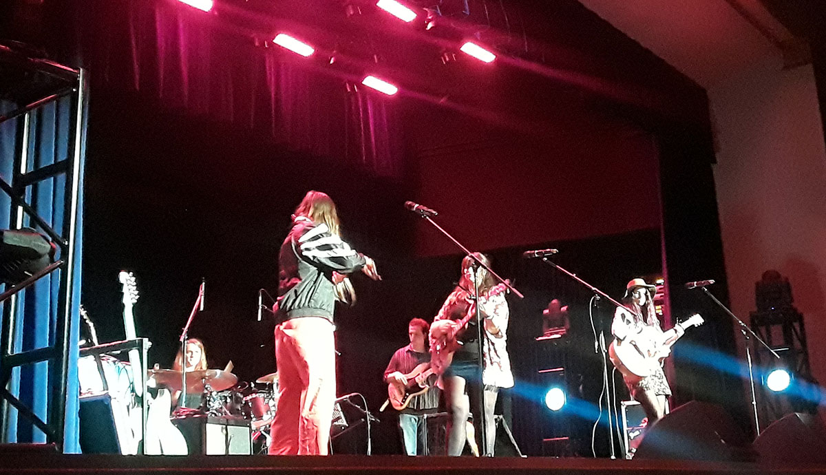 Local band LASKA performed at the International Justice Mission's Jam for Justice event on Nov. 17 in Schofield Auditorium.