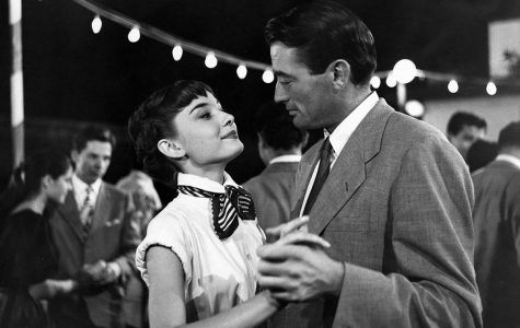 "Audrey Hepburn stars in the 1953 romantic comedy, ""Roman Holiday,"" playing at the Woodland Theater this weekend."