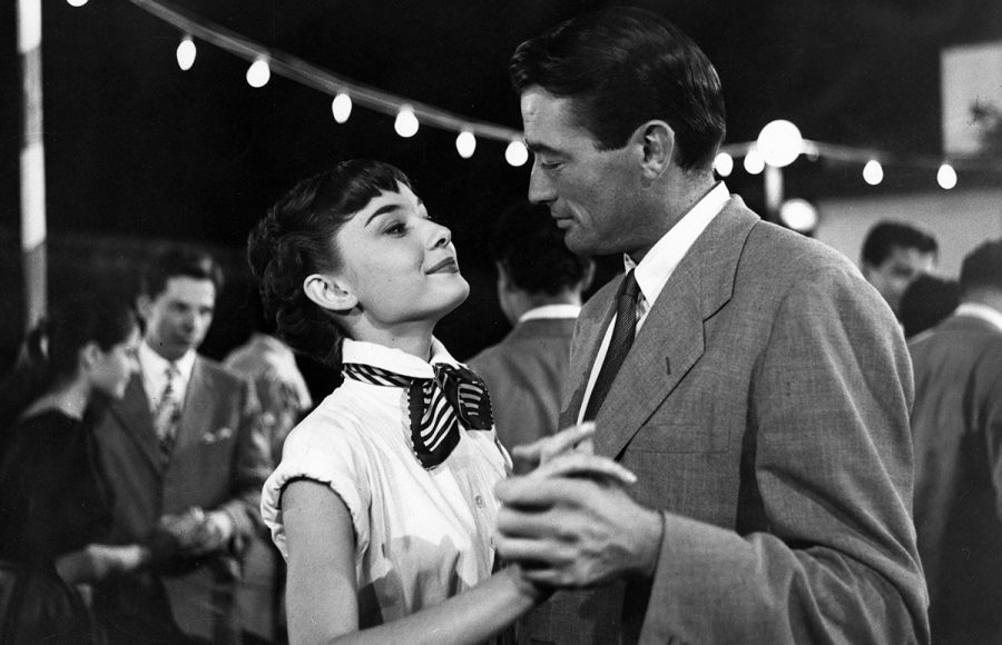 Audrey+Hepburn+stars+in+the+1953+romantic+comedy%2C+%E2%80%9CRoman+Holiday%2C%E2%80%9D+playing+at+the+Woodland+Theater+this+weekend.+
