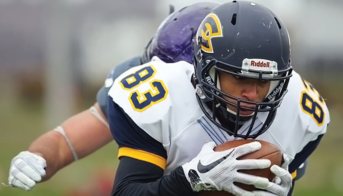 UW-Eau Claire endured one final loss to wrap up their season this past Saturday against the UW-Whitewater Warhawks, falling 36-3.