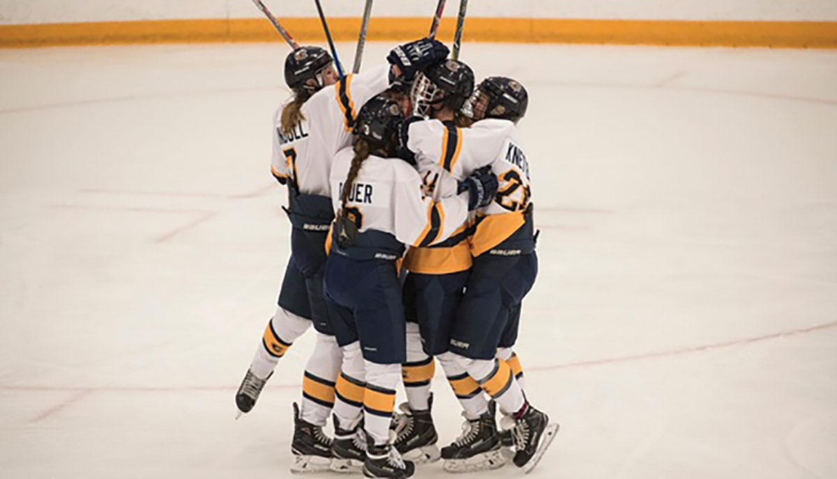 After a decisive victory over the St. Olaf Oles, a close game against the UW-Superior Yellowjackets leaves the Blugolds with their first loss of the season.