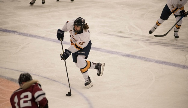 Thursday's and Saturday's games left the Blugolds undefeated in women's hockey.