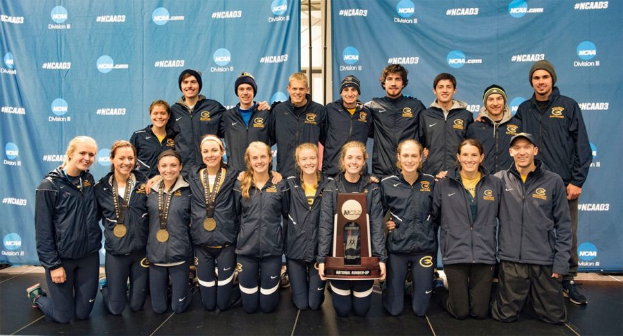 Eau+Claire+came+home+from+NCAA+Division+III+Nationals+with+a+women%E2%80%99s+second+place+team+trophy+and+an+individual+national+champion.+%0A