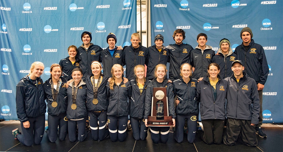 Eau Claire came home from NCAA Division III Nationals with a women's second place team trophy and an individual national champion.