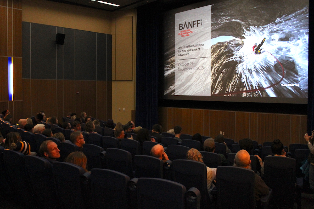 Tickets for the Eau Claire stop of the Banff Mountain Film Festival's World Tour were sold out two weeks in advance.