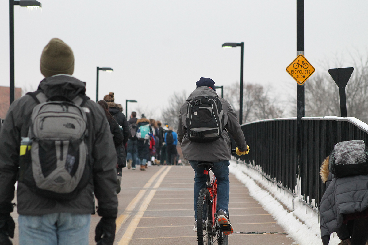 The student-led effort to bring a bike share program to Eau Claire has taken about four years, said Austin Northagen, the Student Office of Sustainability director. After city council unanimously passed an ordinance that would permit a dockless bike share in the city, the program is set to launch sometime in April or May.