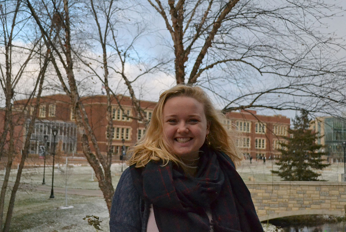 UW-Eau Claire student, Lydia Boerboom, is running for Eau Claire County Board with elections on April 3, 2018.