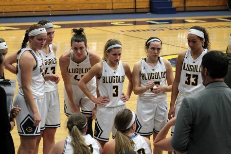 The women's basketball team takes their seventh win of the season