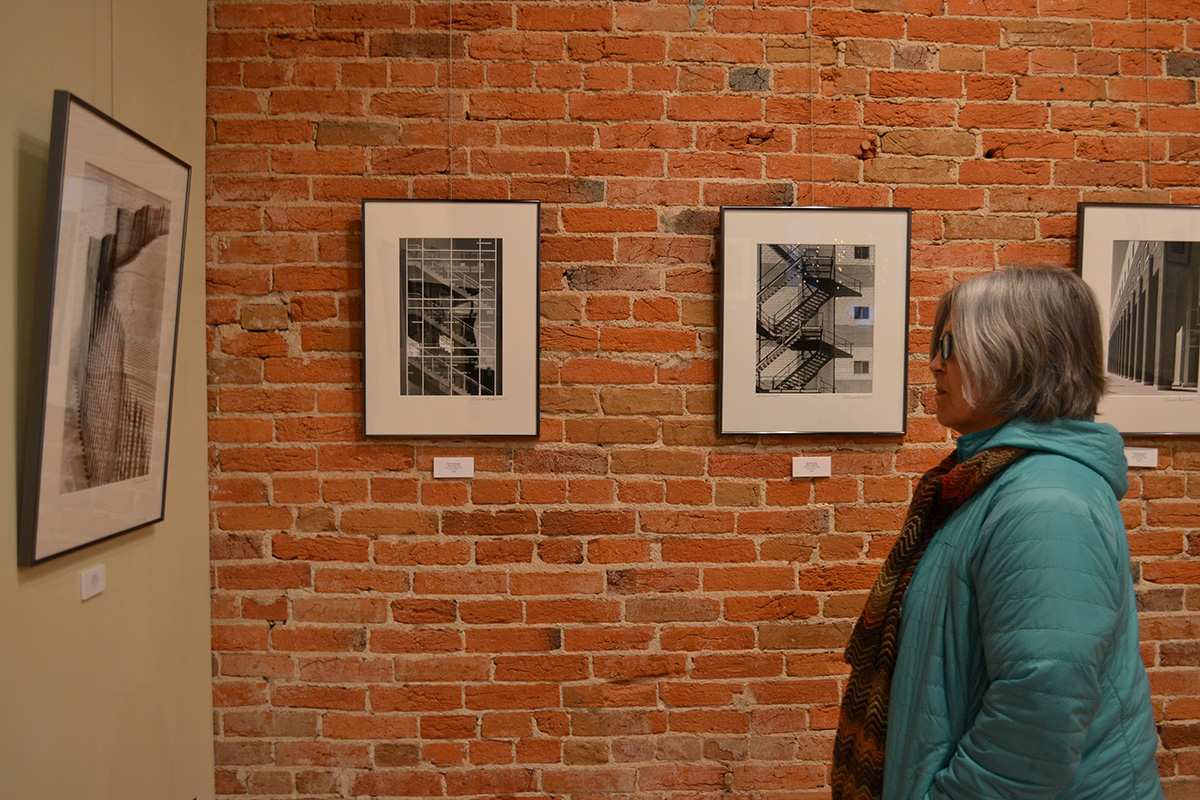 Local Eau Claire photographer, Bruce Warren, currently has his photographic exploration on display at Volume One Gallery.