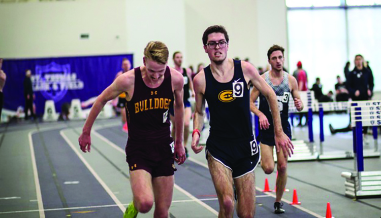 The Blugold Men's and Women's track and field team competed at the St. Thomas invite this weekend.