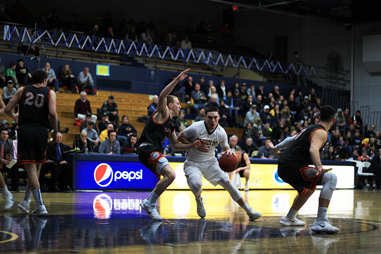 With two games left in the regular season, the Blugolds have two chances to hang on to their last spot in the WIAC tournament.