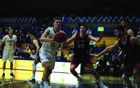 Diekelman finishes his career as the 11th all-time scorer in Eau Claire history while Duff finishes fifth all-time in three-point field goals made.
