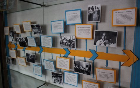 The stories of influential figures in African-American history are on display in Davies for all to see.