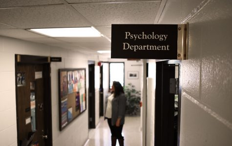 The psychology department serves as home base for the new major, but it is connected to six different departments in total.