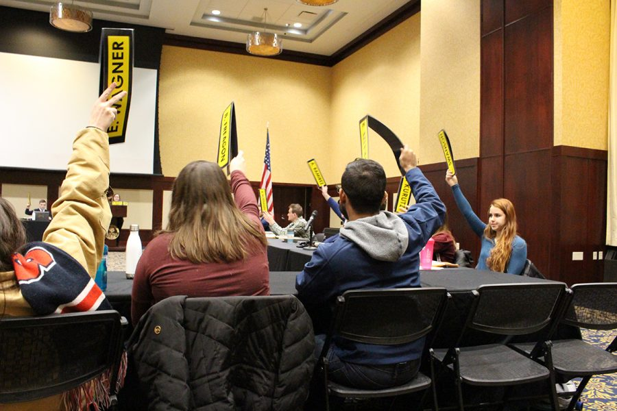 Student Senate approved a special allocation bill designating more than $1,000 to the American Marketing Association.