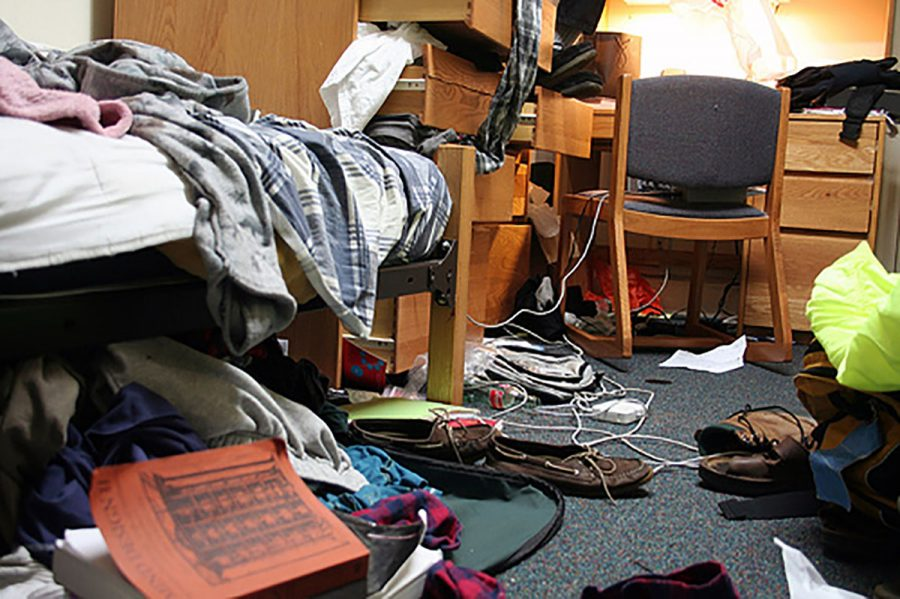 Living in a tiny dorm room is bad enough without an additional person.