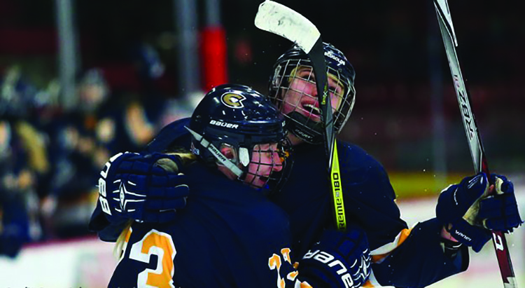 UW-Eau Claire Women's Hockey Tied No. 5 UW-River Falls