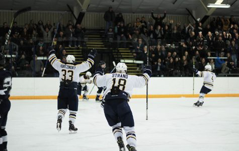 Men's hockey is headed to the WIAC title game