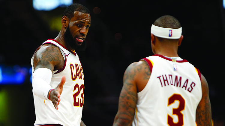 The+LeBron+James+and+Isaiah+Thomas+experiment+didn%27t+work+out+as+Thomas+has+a+new+team+and+James+has+new+teammates.