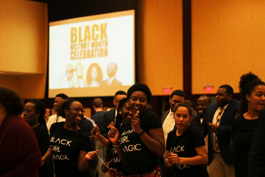 UW-Eau+Claire+planned+a+month+of+events+to+recognize+black+history+and+ended+with+a+celebration+Wednesday+night.