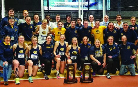 The teams took fourth place at the indoor nationals meet and now look to earn a place in the outdoor nationals, Oawster said.