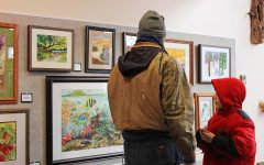 Local watercolor artists show paintings at the Beaver Creek Reserve