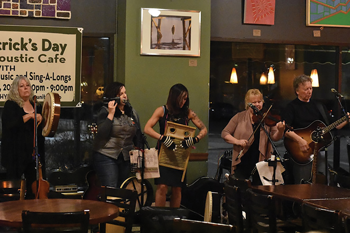 Cattail Moon performed at 7 p.m. on Saturday night at Acoustic Cafe.