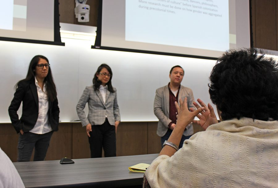 Women's History Month brought in three speakers to discuss issues of colonized destruction of indigenous communities.