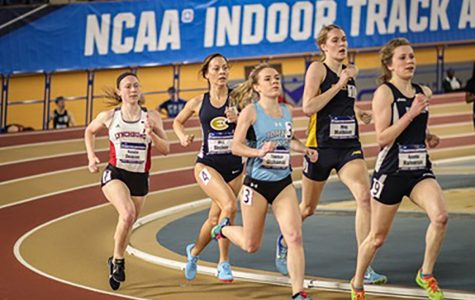 The men's and women's indoor track and field team impressed at NCAA meet, each placing fourth.