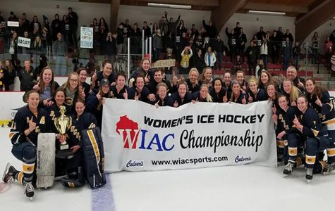 Women's hockey makes history