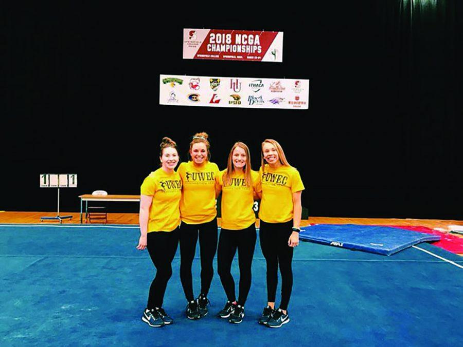 +Blugolds+gymnasts+Tori+Erickson%2C+Hannah+Lewis%2C+Ashley+Benes+and+Megan+Fayler+qualified+for+nationals.