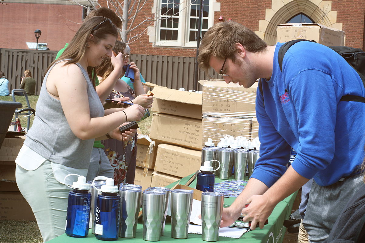 Campus and community organizations and businesses came together to show how students can make the Earth a better place.