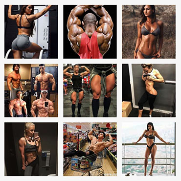 Fitness Instagrammers capitalize on comparison