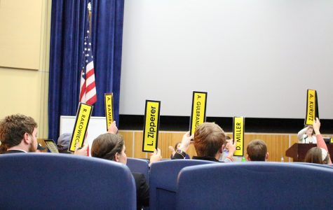 Before the bill can be brought to a vote, a mandatory public hearing for the student body needs to be held, in accordance with the Student Senate Bylaws.