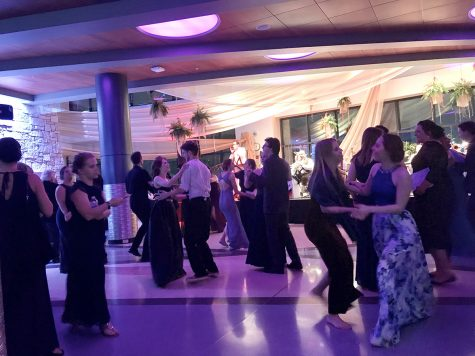 Senior music students end their Viennese Ball experiences on a high note