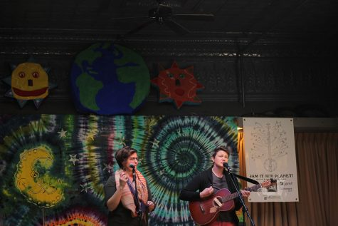 Local artists, businesses hold event advocating for the planet