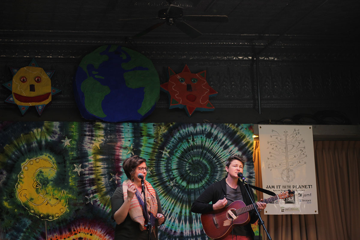 Local and regional musicians included Heatbox, Stanton West, Earth Day All-Stars, Olive Sings and Randall Adams. They played from noon on Saturday, April 21, to 1 a.m. on Sunday, April 22.