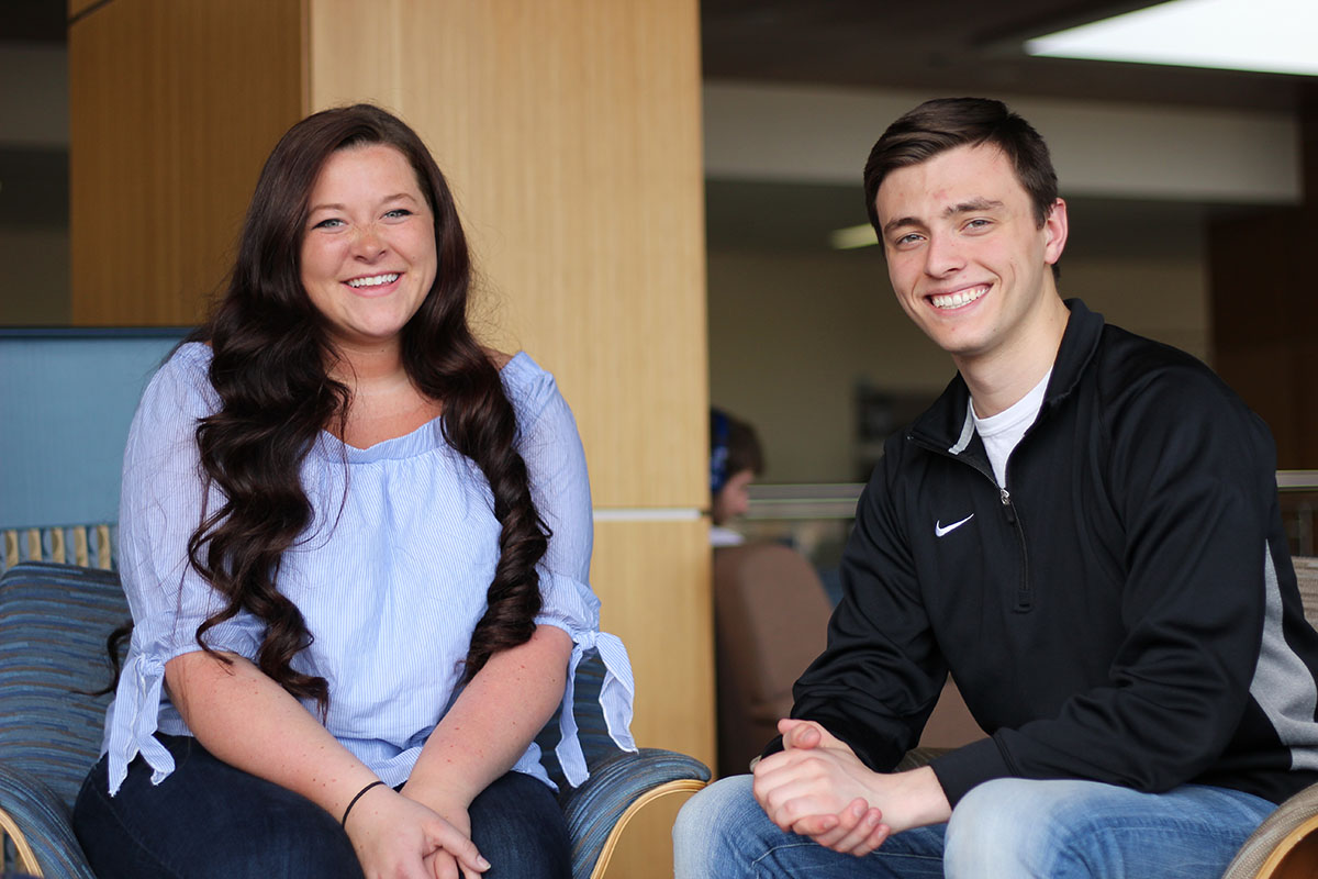Student Body President-elect Branden Yates and Vice President-elect Maddie Forrest won nearly 76 percent of the vote in this year's Student Senate elections.