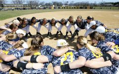 Blugolds softball ends season against Pointers