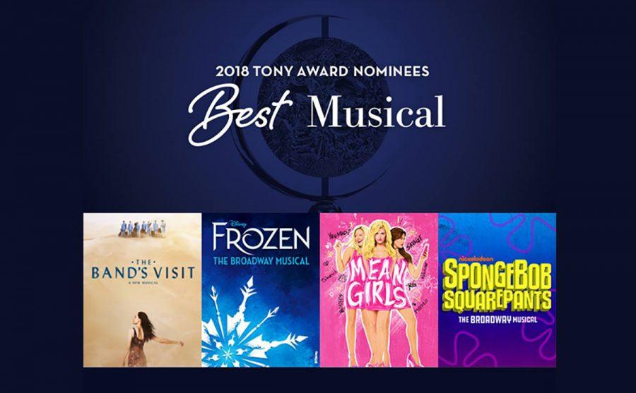 Nominations+were+decided+on+April+27+for+the+2017-2018+Broadway+season%E2%80%99s+Tony+Awards.+