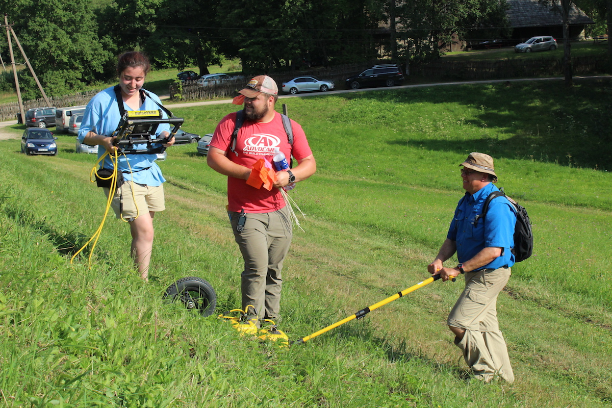 Kofman, Schneider and Jol used ground penetrating radar to examine the subsurface of the Bilioniai hill fort in Šilalė, Lithuania.