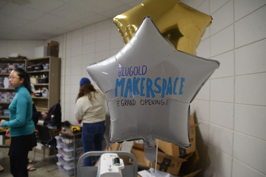 The Makerspace Grand Opening invited students, faculty and staff to explore the new space and available tools.