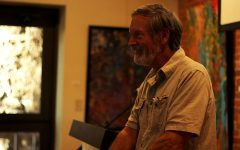 Professor emeritus John Hildebrand reads at Local Lit