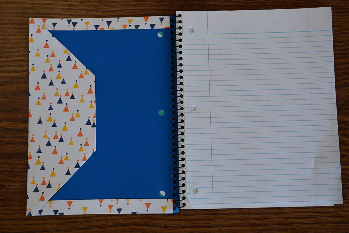 Then%2C+fold+over+the+last+piece+of+the+scrapbooking+paper+over+the+notebook.+