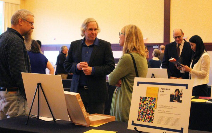 UW-Eau Claire published professors received recognition at Author's Celebration.