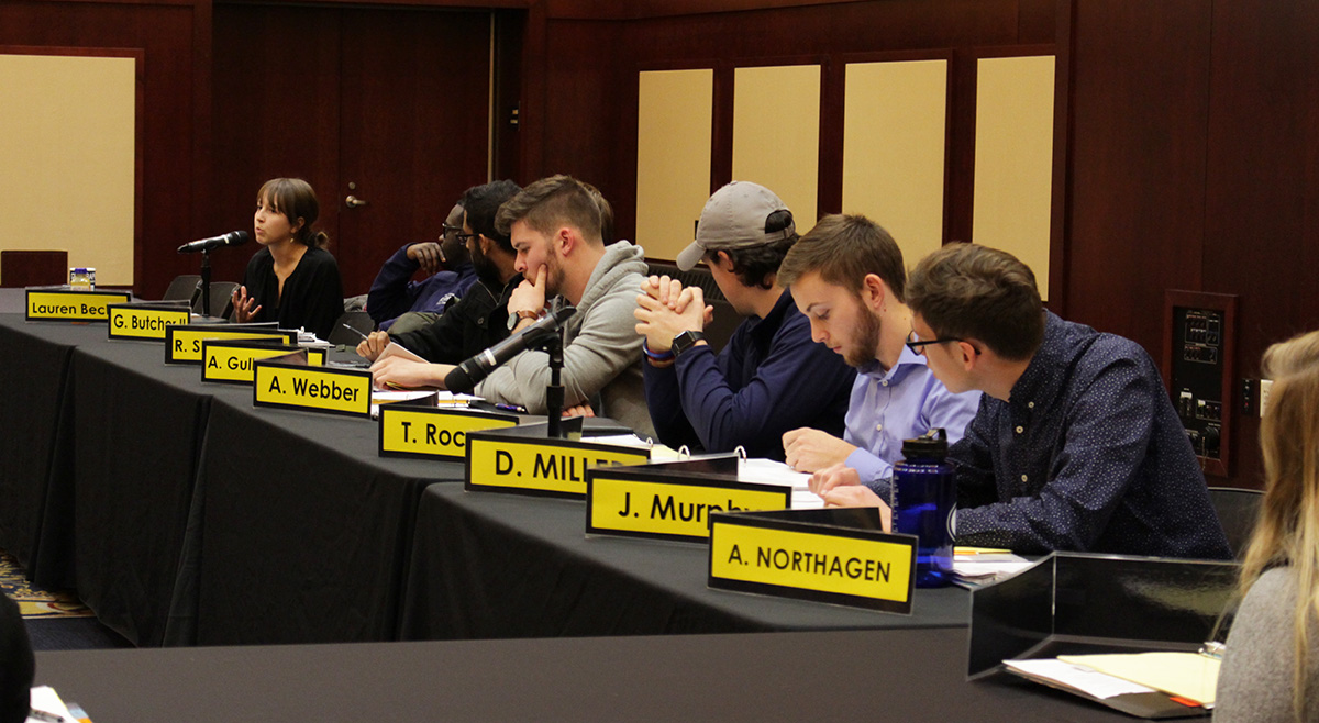 Student Senate voted in opposition to a proposed amendment to the UW System Student Representatives constitution that would lower quorum.