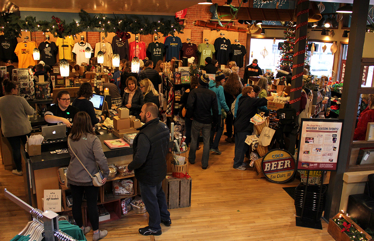 The Local Store and Volume One gallery hosted a Small Business Saturday Appreciation Sale to kick off the holiday season.