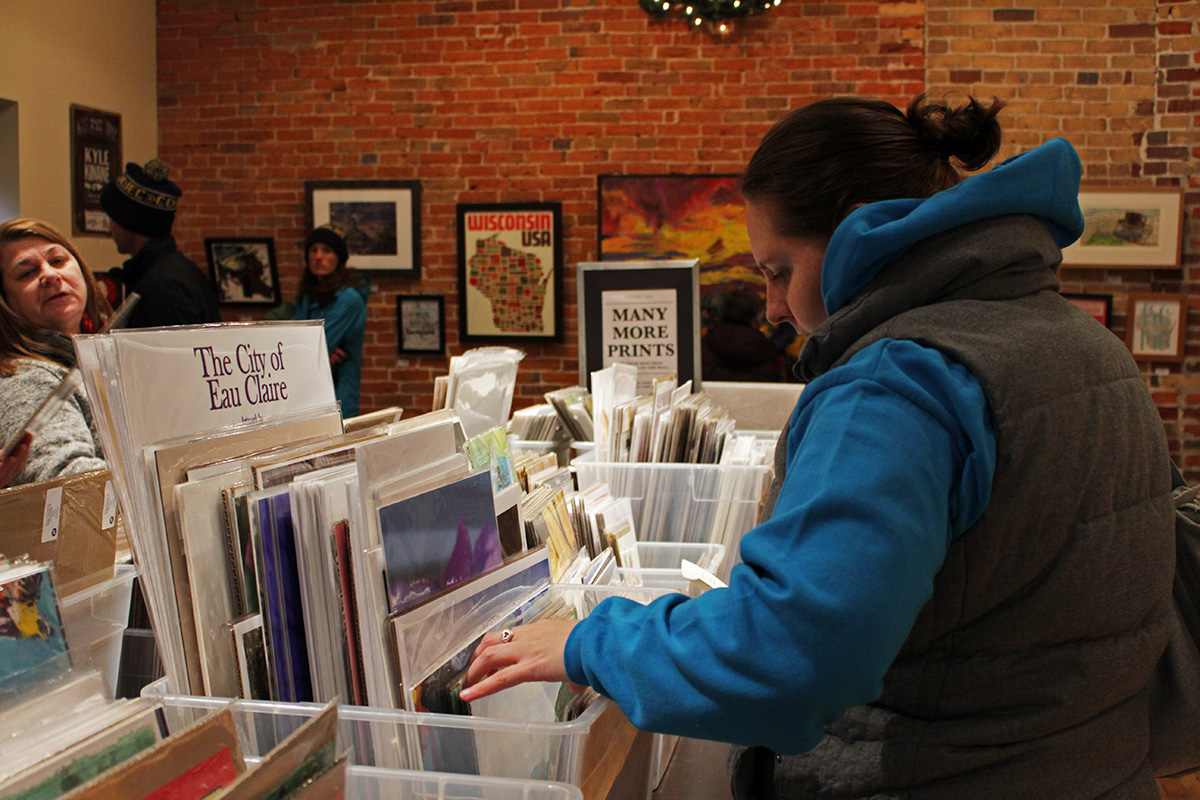 A+plethora+of+prints+that+feature+more+than+100+local+artists+are+on+sale+from+Nov.+2+to+Jan.4.