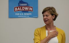 Senator Tammy Baldwin visits UWEC